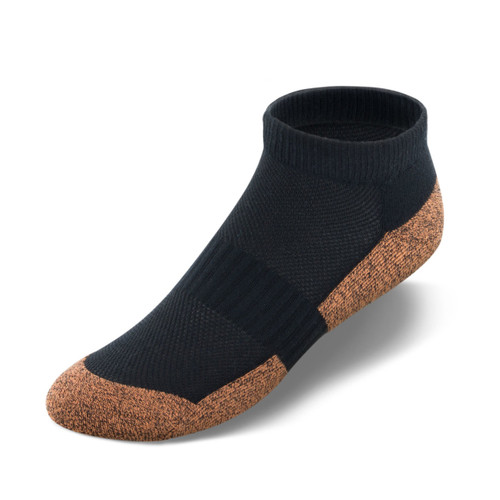 Apex Copper Cloud Socks - No Show (3 pk)