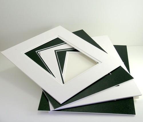 "11x14 Double 25 Pack (Conservation) - includes mats, 1/8"" Acid-Free Foamcore backing, sleeves and tape!"