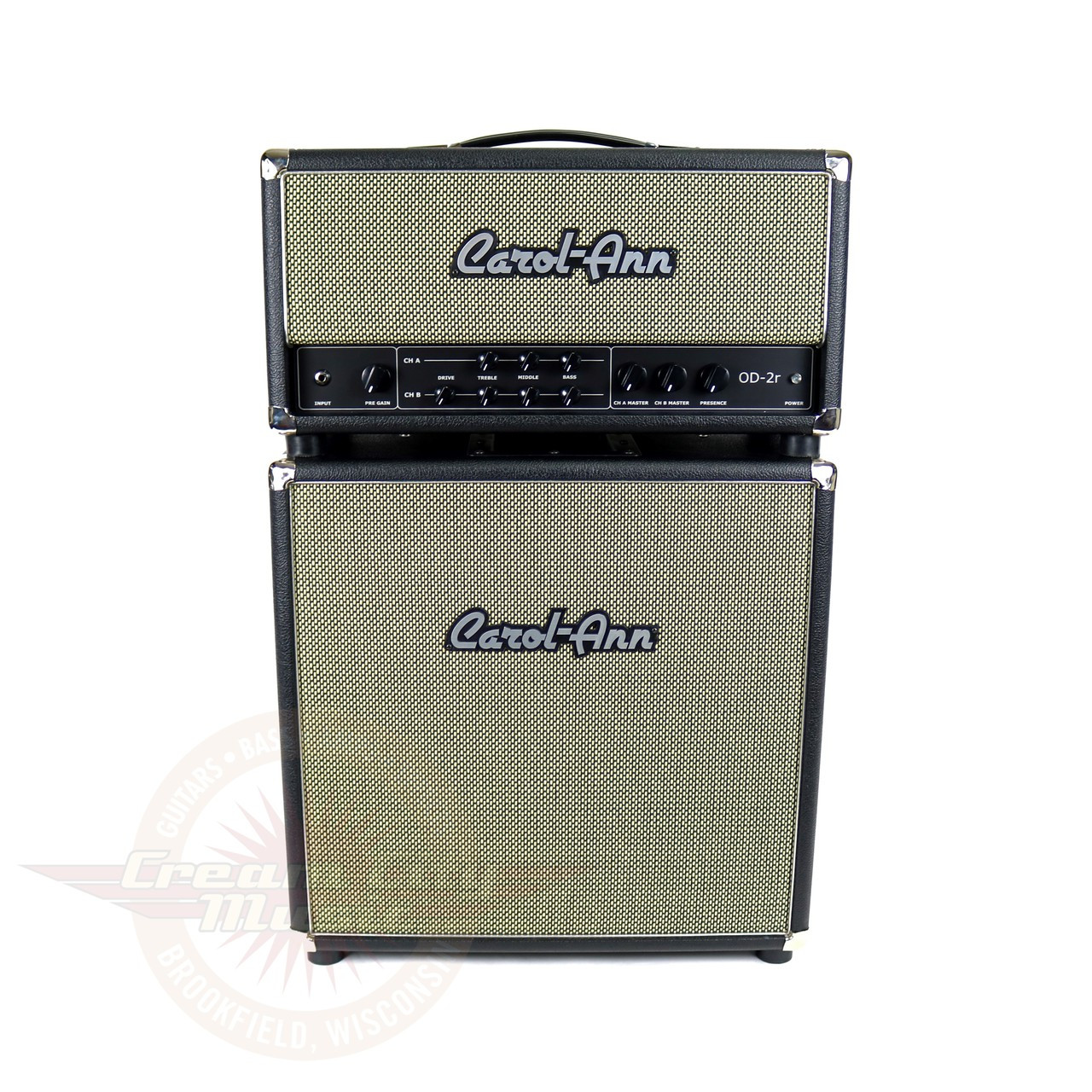 Fresh Guitar Amp Head and Cabinet