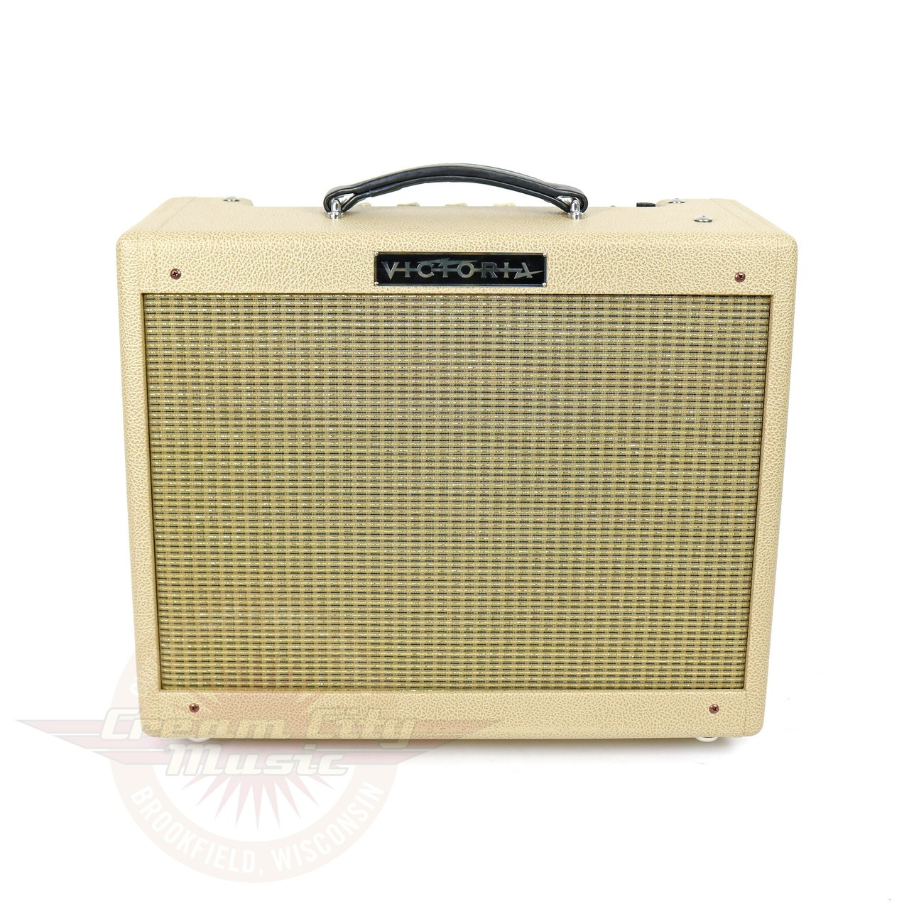 New Victoria Vicky Verb Jr 5w 1x12 Boutique Tube Combo Amp Cream The Configuration Is Classic Power Supply 5y3 Rectifier