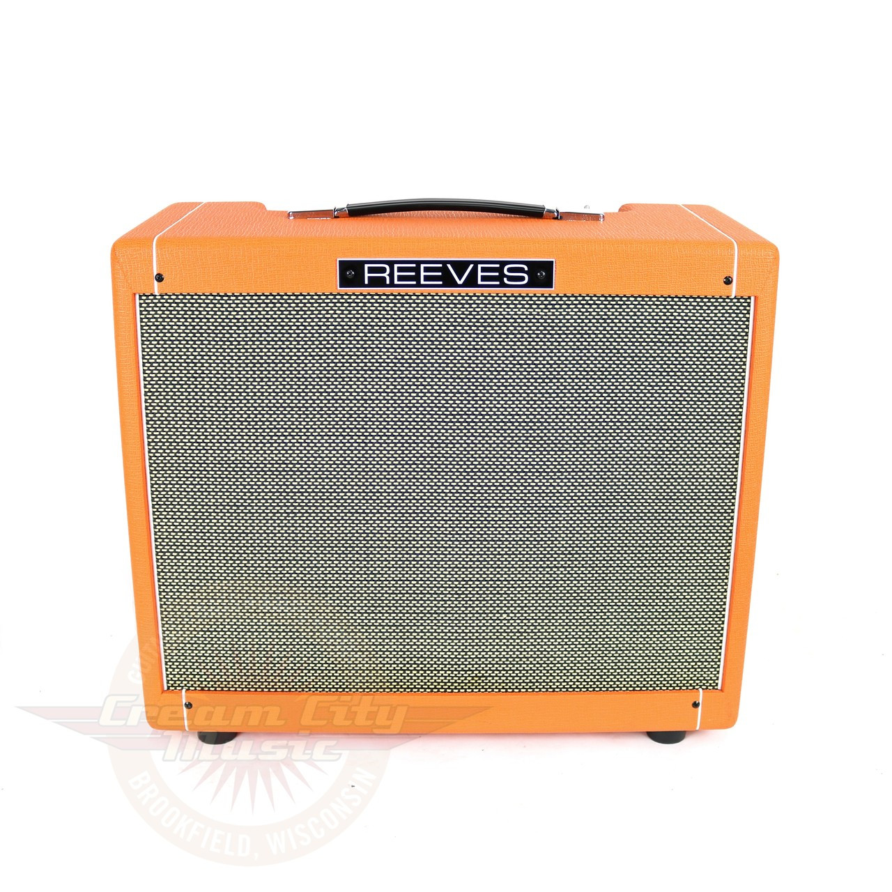 Used 2015 Reeves Custom 12 12w 1x12 Boutique Tube Combo Amp Cream Audio Amplifier