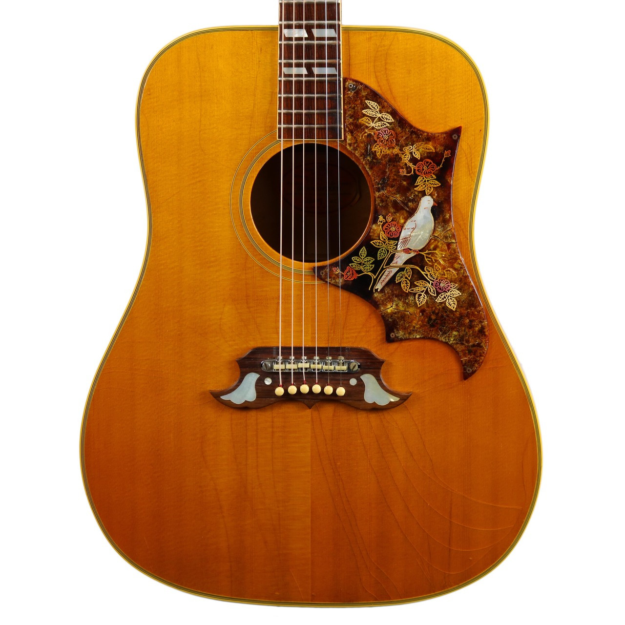 Vintage 1968 Gibson Dove Dreadnought Acoustic Guitar Natural Finish