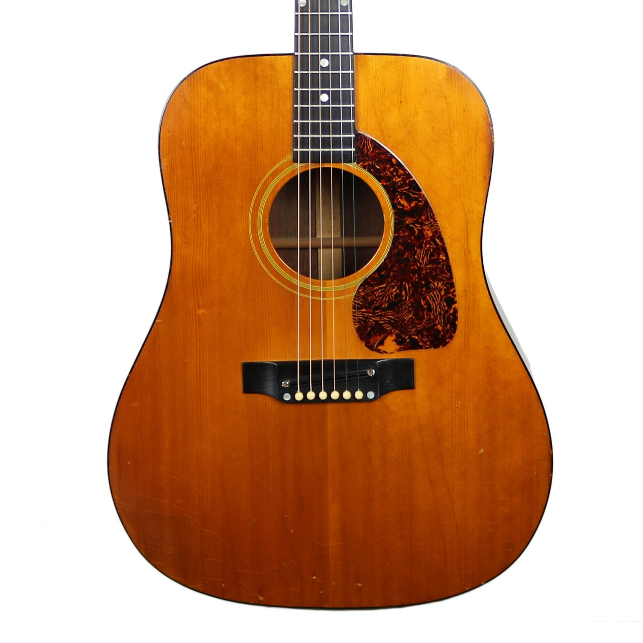 vintage 1965 gibson heritage dreadnought acoustic guitar natural finish cream city music. Black Bedroom Furniture Sets. Home Design Ideas