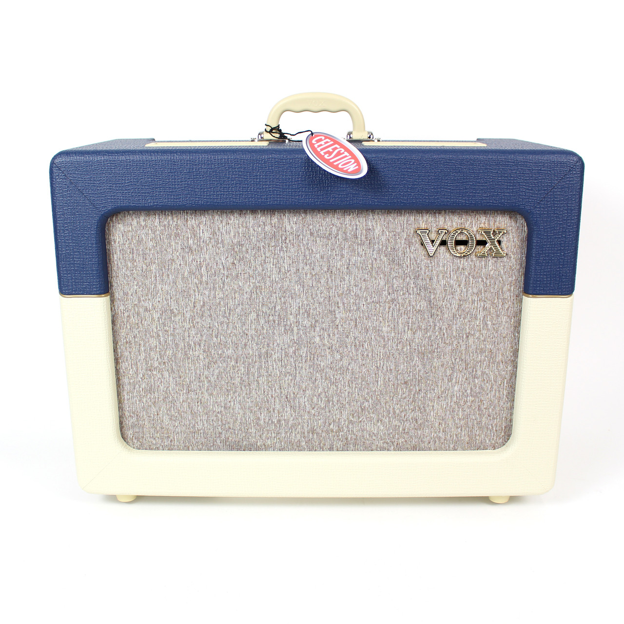 New Vox AC15C1-TV-BC Limited Edition 15W 1x12 Tube Combo Amp | Cream ...
