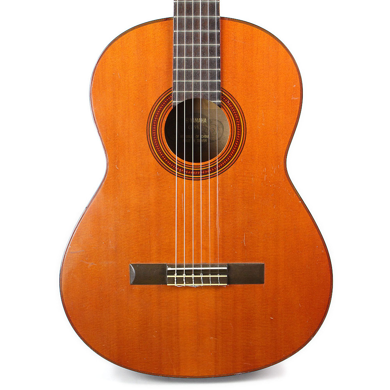 used yamaha g 55 classical acoustic guitar cream city music. Black Bedroom Furniture Sets. Home Design Ideas