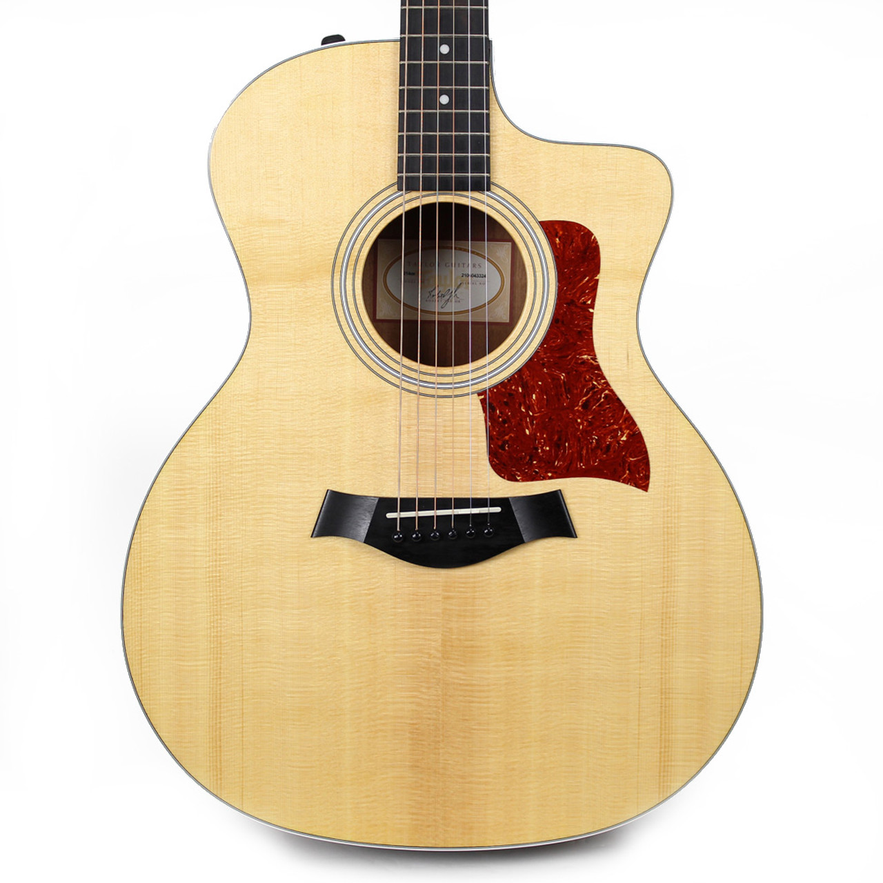 new used taylor 214ce grand auditorium acoustic electric guitar in natural cream city music. Black Bedroom Furniture Sets. Home Design Ideas