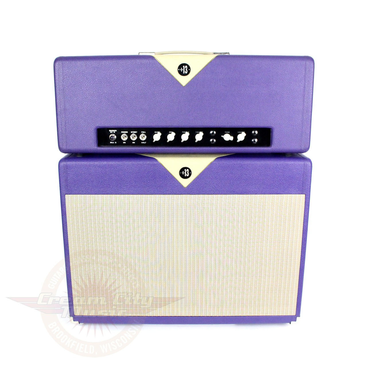 Used 2005 Divided by 13 RSA31 31/15W 2x12 Tube Amp Stack | Cream ...