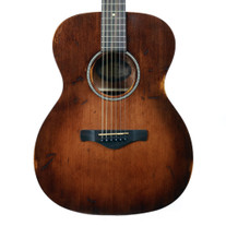 Ibanez AVC6DTS Artwood Vintage Grand Concert Acoustic Guitar in Distressed Tobacco Sunburst