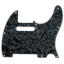 Fender Modern Telecaster 8-Hole 4-Ply Black Pearl Moto Replacement Pickguard