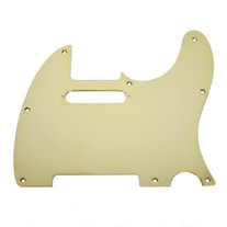 Fender Modern Telecaster 8-Hole Single-Ply Gold-Plated Brass Replacement Pickguard