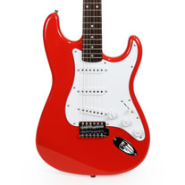 Fender Squier Affinity Series Stratocaster Rosewood - Race Red