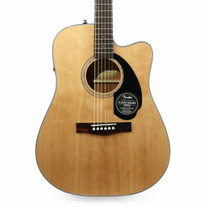Fender CD-60SCE Dreadnought Spruce Acoustic Electric in Natural