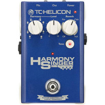 TC Electronic Helicon Harmony Singer Vocal Effects Pedal