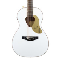 Gretsch G5021WPE Rancher Penguin Parlor Acoustic Electric in White