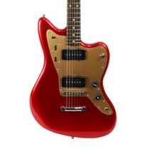 Fender Squier Deluxe Jazzmaster ST Hard Tail Rosewood - Candy Apple Red