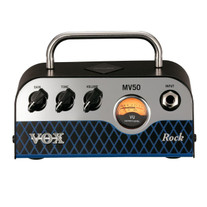 Vox MV50 Rock 50W Miniature Hybrid Tube Amp Head