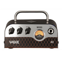 Vox MV50 AC 50W Miniature Hybrid Tube Amp Head