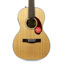 Fender CP-140SE Parlor Acoustic Electric in Natural with Case