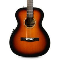 Fender CT-140SE Travel Acoustic Electric in Sunburst with Case