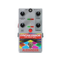 Alexander Pedals Syntax Error Audio Computer System Pedal