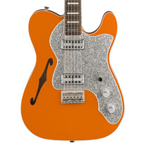 Fender Parallel Universe Tele Thinline Super Deluxe Rosewood - Orange