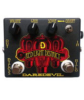 Daredevil Red Light Distortion Pedal