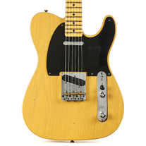 Fender Custom Shop '52 Telecaster Flash Coat Relic in Butterscotch Blonde