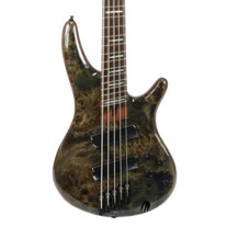 Ibanez SRMS805 Workshop 5 String Electric Bass in Deep Twilight