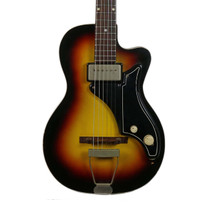 Vintage 1958 National Model 1123 Bolero Electric Guitar Sunburst Finish