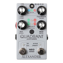 Alexander Pedals Quadrant Audio Mirror Delay Pedal