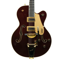 Gretsch G5420TG 135th Anniversary Electromatic Hollow Body Two-Tone Dark Cherry Casino Gold