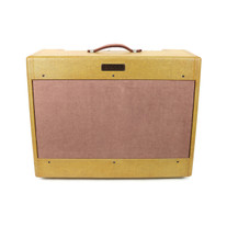 Vintage 1954 Fender Twin 25W 2x12 Tube Combo Amp Restoration