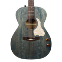 Art & Lutherie Roadhouse Parlor Q-Discrete Acoustic Electric with Gig Bag - Denim Blue