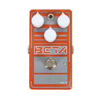 Solid Gold FX Beta MKII Custom Shop Bass Overdrive Pedal - Electric Orange