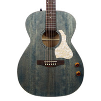 Art & Lutherie Legacy Concert Hall Q-Discrete Acoustic Electric in Denim Blue