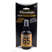 Dunlop Formula 65 Guitar Polish & Polishing Cloth Combo