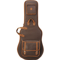 Levy's LM18PR Brown Leather Electric Guitar Bag