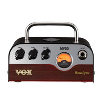 Vox MV50 Boutique 50W Miniature Hybrid Tube Amp Head MV50BQ