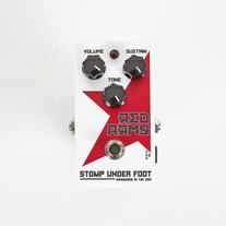 Stomp Under Foot Effects Red Army Limited Edition Fuzz Distortion Guitar Pedal