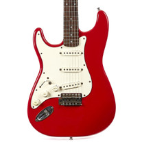 1993 Fender Squier Series Stratocaster MIK Dakota Red