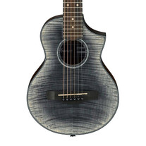 Ibanez EWP32FM Open Pore Piccolo Guitar Glacier Black