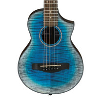 Ibanez EWP32FM Open Pore Piccolo Guitar Glacier Blue