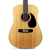 1980's Sigma DR12-7 12-String Dreadnought Acoustic Guitar Natural Finish