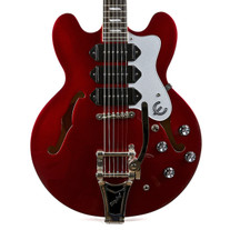 2014 Epiphone Riviera P93 Red Pearl Finish