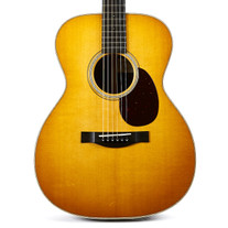 Santa Cruz OM Orchestra Model Sitka Spruce & Indian Rosewood - Sunburst