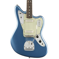 Fender Johnny Marr Signature Jaguar Rosewood - Lake Placid Blue