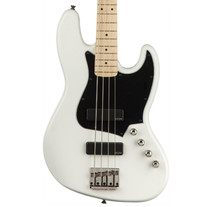 Fender Squier Contemporary Series Active Jazz Bass HH Maple Fretboard - Flat White