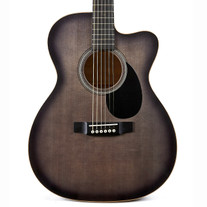 Martin Custom Shop 000 14 Fret Cutaway Spruce & Quilted Maple - Trans Black Burst