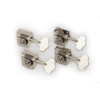 Fender Pure Vintage Bass Tuning Machines - Nickel-Plated Steel