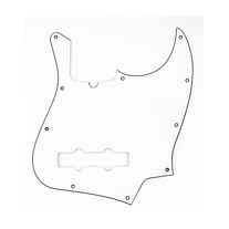 Fender Jazz Bass Pickguard 10-Hole Mount 3-Ply - White